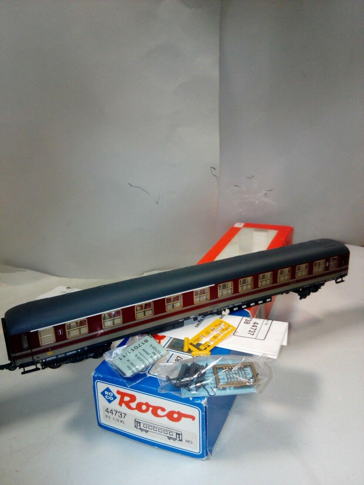 ROCO 44737 CARROZZA UIC X FS 1 2 CL