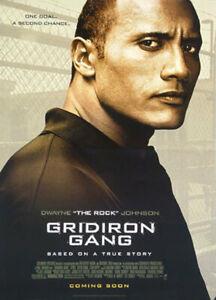 Footballfeld Gang (Zweiseitig Advance Stil B) Original Filmposter