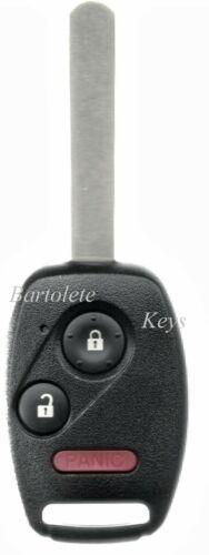 Replacement Remote Car Key Fob Fits 2005 2006 2007 2008 Honda Pilot