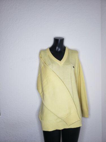 Vintage Chemise Lacoste Men's XL Woven Pullover Ye
