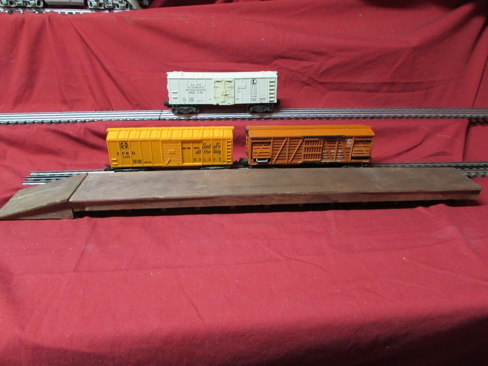 Scratch Made Freight Unloading Platform 24  O Guage