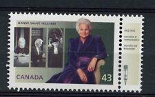 Canada 1994 SG#1582 Jeanne Sauve + Broadcaster Tab MNH#A77319