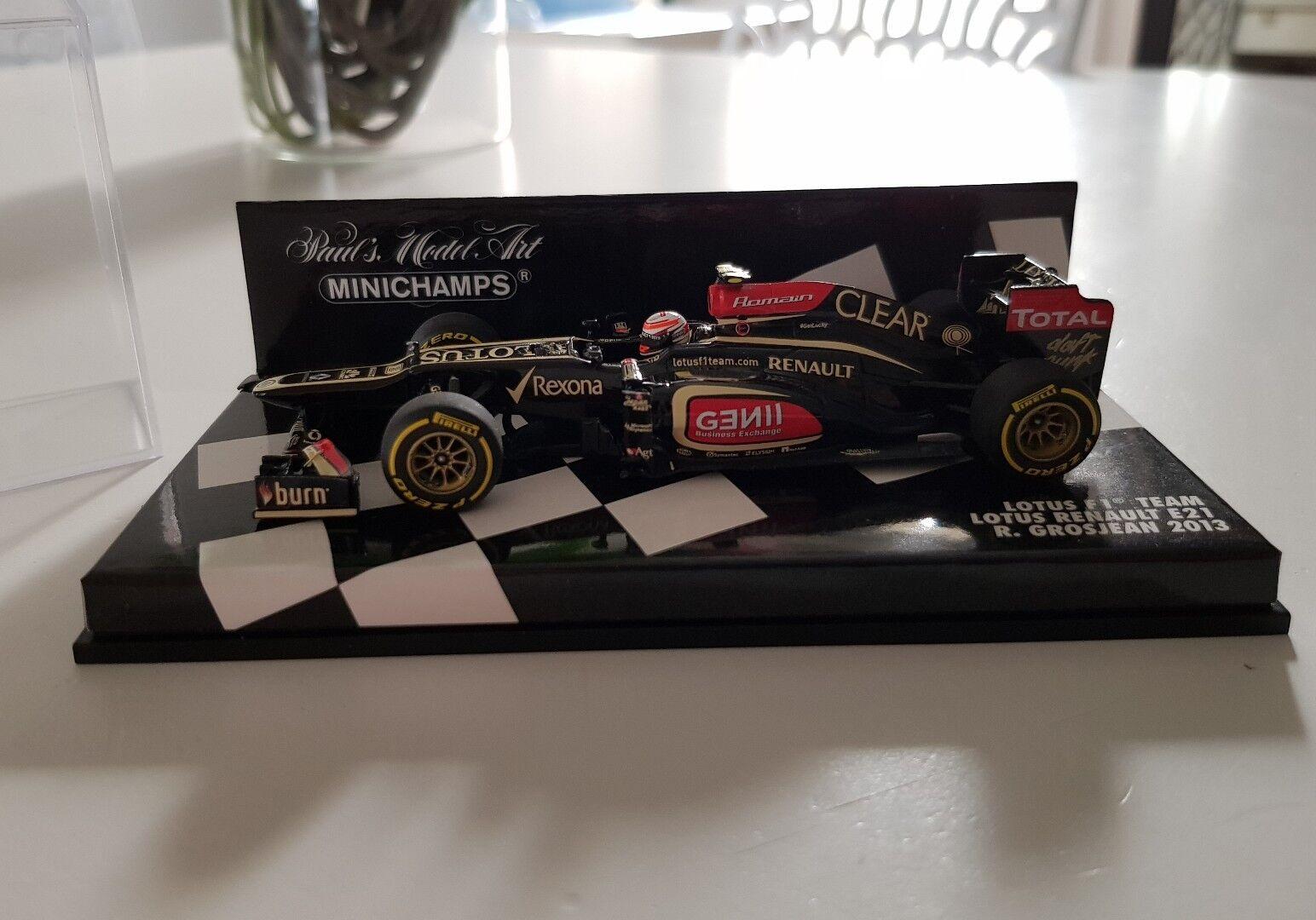 Minichamps Lotus Grosjean 2013 Daftpunk Daft Punk 1/43