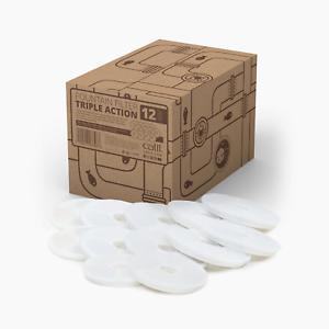 Filtres à triple action de fontaine d'eau Catit Senses, paquet de 12 22517437483