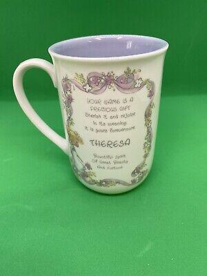 precious moments personalized mug for theresa beautiful