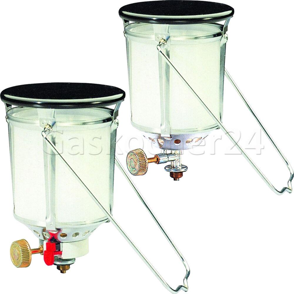 Starke Gaslampe FAVORITA PIEZO 500HK Aufsatz Gaslaterne für Campingaz R904 R907  | Haltbar