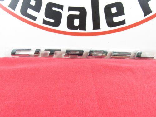 "DODGE Durango Chrome /""Citadel/"" Emblem Nameplate NEW OEM MOPAR"