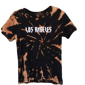 Yeezus design Bleach Dyed Personalized Graphic Tee