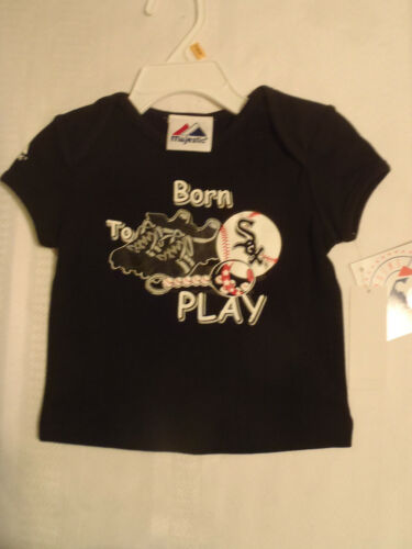 MAJESTIC Chicago White Sox Shirt Short Sleeve Shirt 12 18 or 24 Month Choice NWT