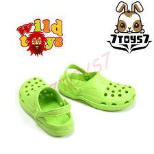 Wild Toys 1/6 Plastic Clogs#7 Lime : Sandal Now  WT006G