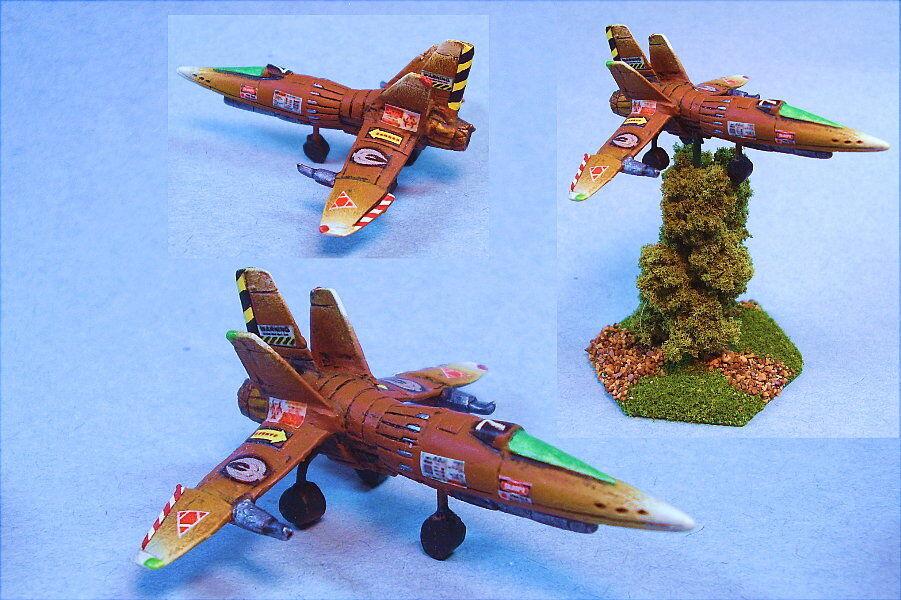 slåsstech målade Avar Aerospace Fighter WG