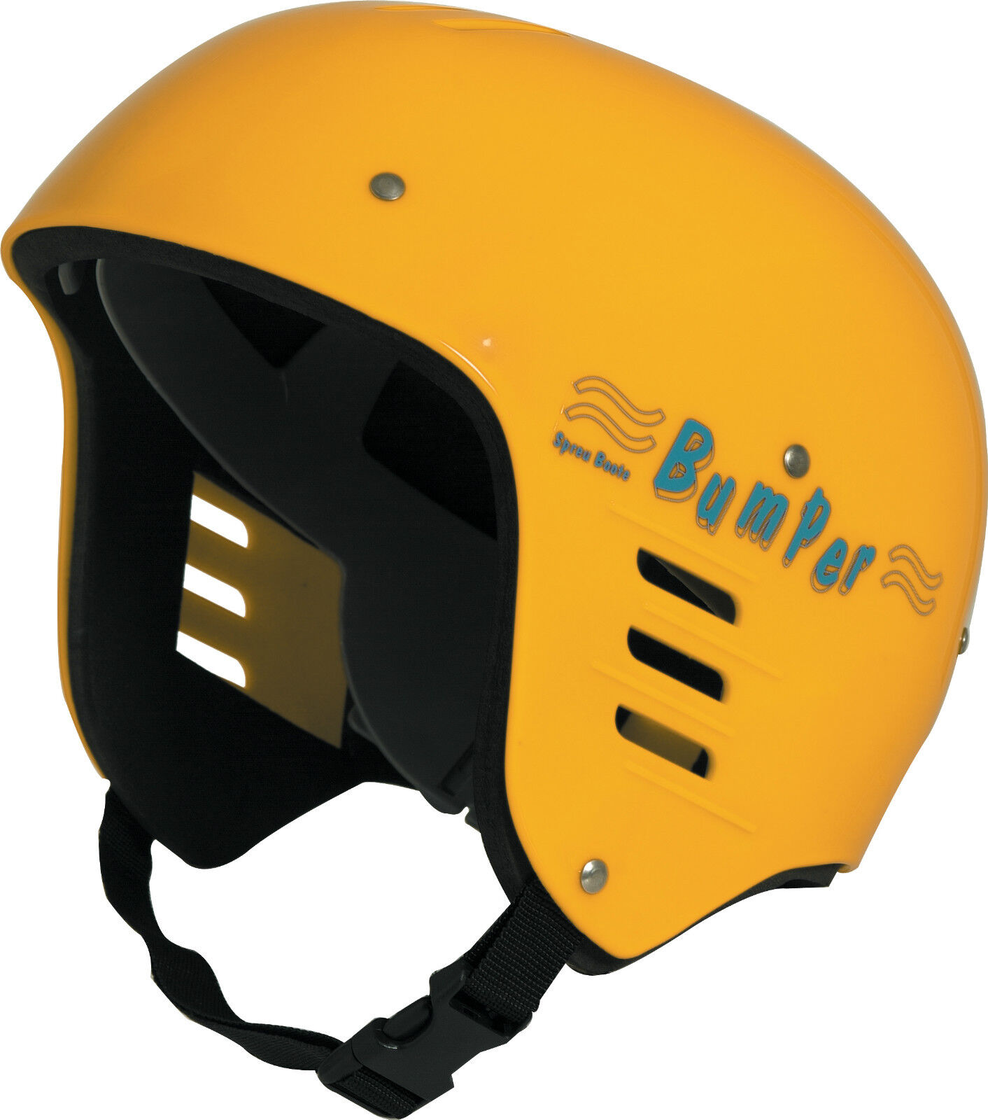 Bumper Helmet - YELLOW - Junior - Kayak,Canoe,Sail,Watersports,Centre,Instructor