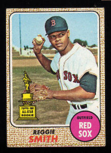 Details About 1968 Topps 61 Reggie Smith Baseball Card Ex