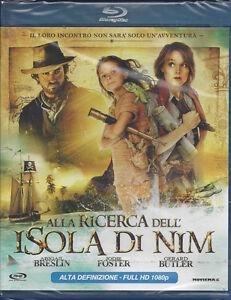 Blu-ray **ALLA RICERCA DELL'ISOLA DI NIM** con Jodie Foster nuovo 2008