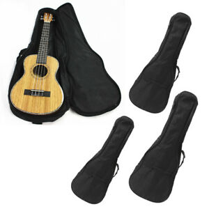 21 23 24 26 Ukulele Gig Bag Uke Case Backpack W Adjustable Shoulder Strap Ebay