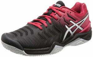 ASICS-Gel-Resolution-7-Clay-Scarpe-da-Ginnastica-Uomo-E702Y-001-RESOLUTION