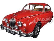 1962 JAGUAR MARK 2 3.8 CARMEN RED LHD 1/18 DIECAST MODEL CAR BY PARAGON 98322