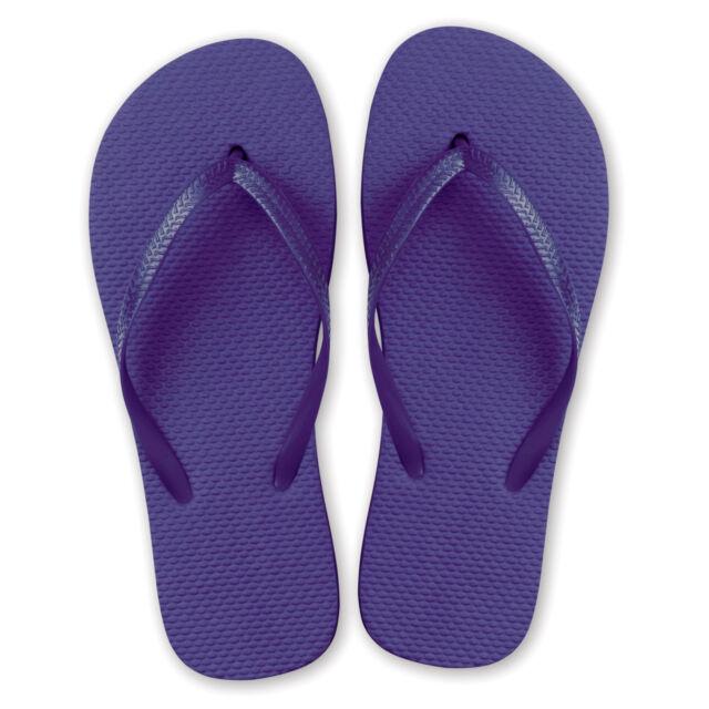 d12eb0f41eaf9 10 Pairs of Ladies Flip Flops Wedding Party Favour Spa Sandals M l ...