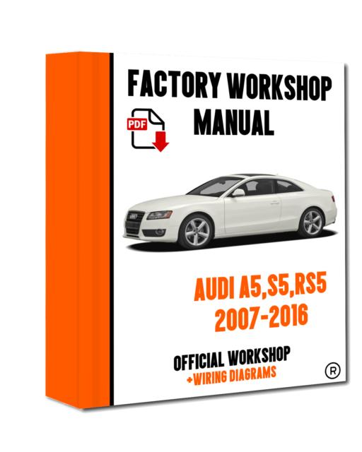 Terrific Official Workshop Manual Service Repair Audi A5 2007 2016 For Sale Wiring Digital Resources Otenewoestevosnl