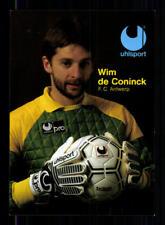Wim de Coninck Autogrammkarte FC Antwerpen 80er Jahre  Original + A 204754