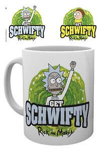 Keramik Tasse Get Schwifty Portal Energisch Rick And Morty Größe Ø8,5 H9,5cm
