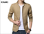 NEW-Men-039-s-Jacket-Slim-Fit-Collar-Cotton-Coat-Fashion-Casual-Outwear-Jacket-Coats thumbnail 8