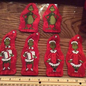 Style-6-The-Grinch-Who-Stole-Christmas-Fabric-Iron-On-Appliques-Christmas