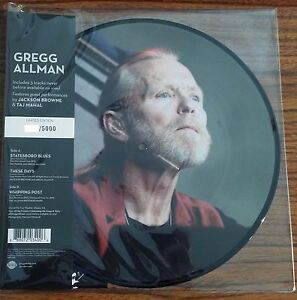 Gregg-Allman-LIVE-Limited-Edition-ROUNDER-RECORDS-New-Vinyl-10-034-Picture-Disc-EP