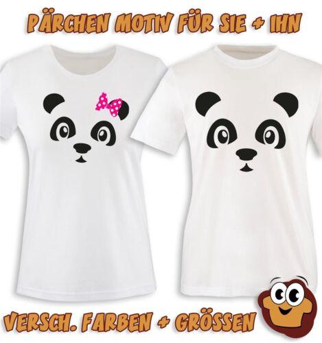 PANDA SCHLEIFE II Damen T-Shirt