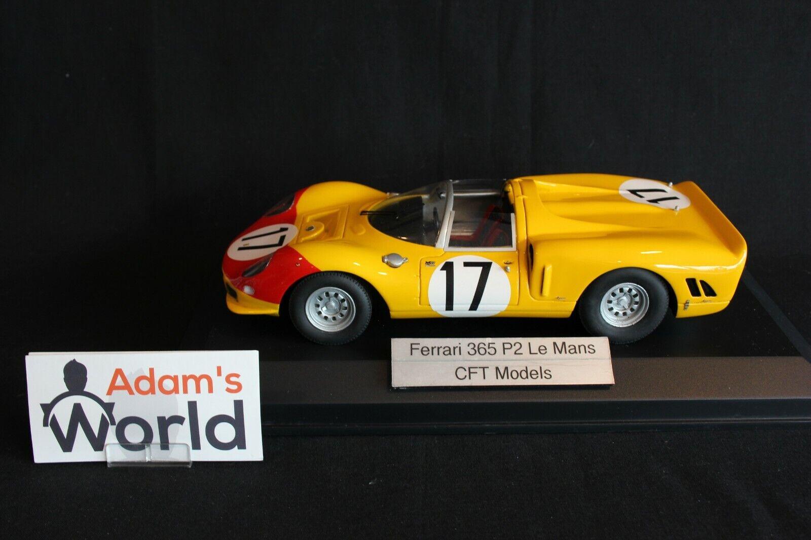CFT Models Ferrari 365 P2 1966 1 18  17 Blaton   Dumay 24h Le Mans (PJBB)