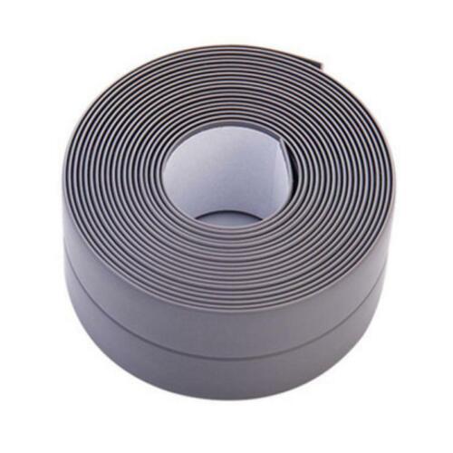 Waterproof Self Adhesive Anti-moisture PVC Tape Home Wall Corner Caulk Sticker