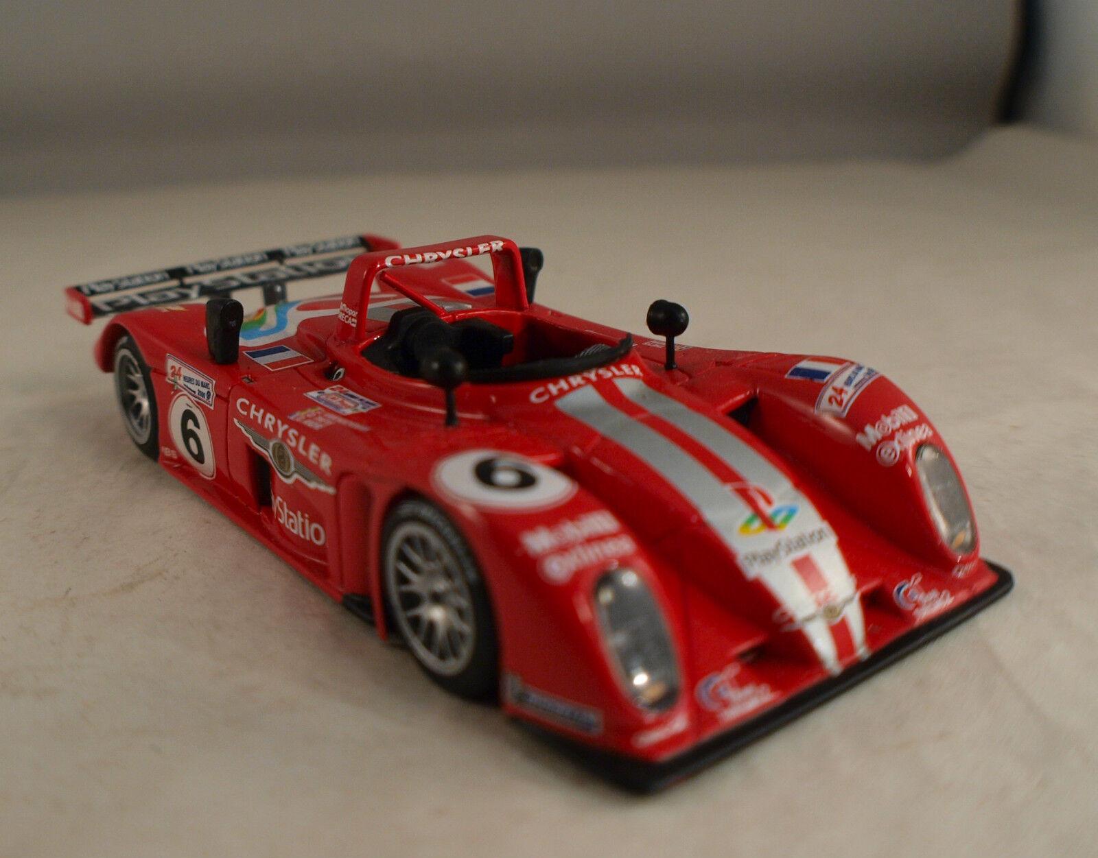 Spark SCYD02 Reynard 2KQ Oreca n°6 Theys André Le Mans 2000 1 43