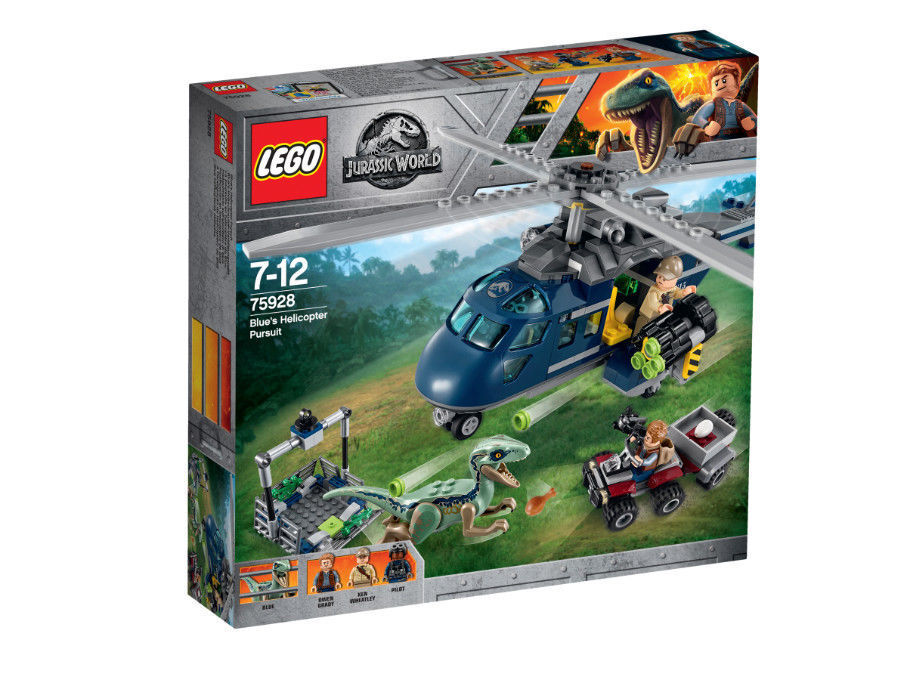 Lego Jurassic Jurassic Jurassic World - Blau's Hubschrauber-Verfolgungsjagd 75928 ab1ca7