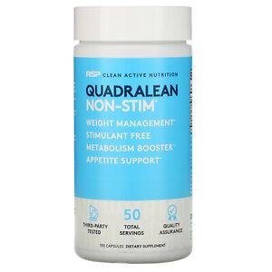 QuadraLean Non-Stim, Fat Burner, 150 Capsules