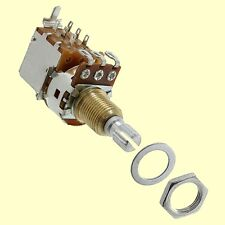 1 pc. 17 mm Guitar Potentiometer w/Push-Pull Switch 500K  linear  PDB183 Bourns