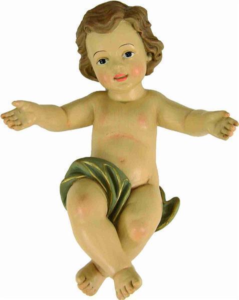Krippenfigur Krippenfigur Krippenfigur Christkind Jesuskind mit Windel Größe ca. 30 cm 808fa2
