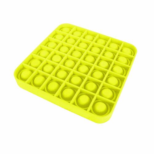 Pop Its Square Fidget Toy Push bubble stress relief kids pop it tiktok