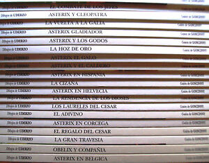 Comic-Asterix-coleccion-completa-29-numeros-Grijalbo-Junior-Tapas-duras