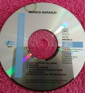 MONICA-NARANJO-CD-MAXI-SINGLE-LAS-CAMPANAS-DEL-AMOR-REMIXED-SIN-PORTADAS