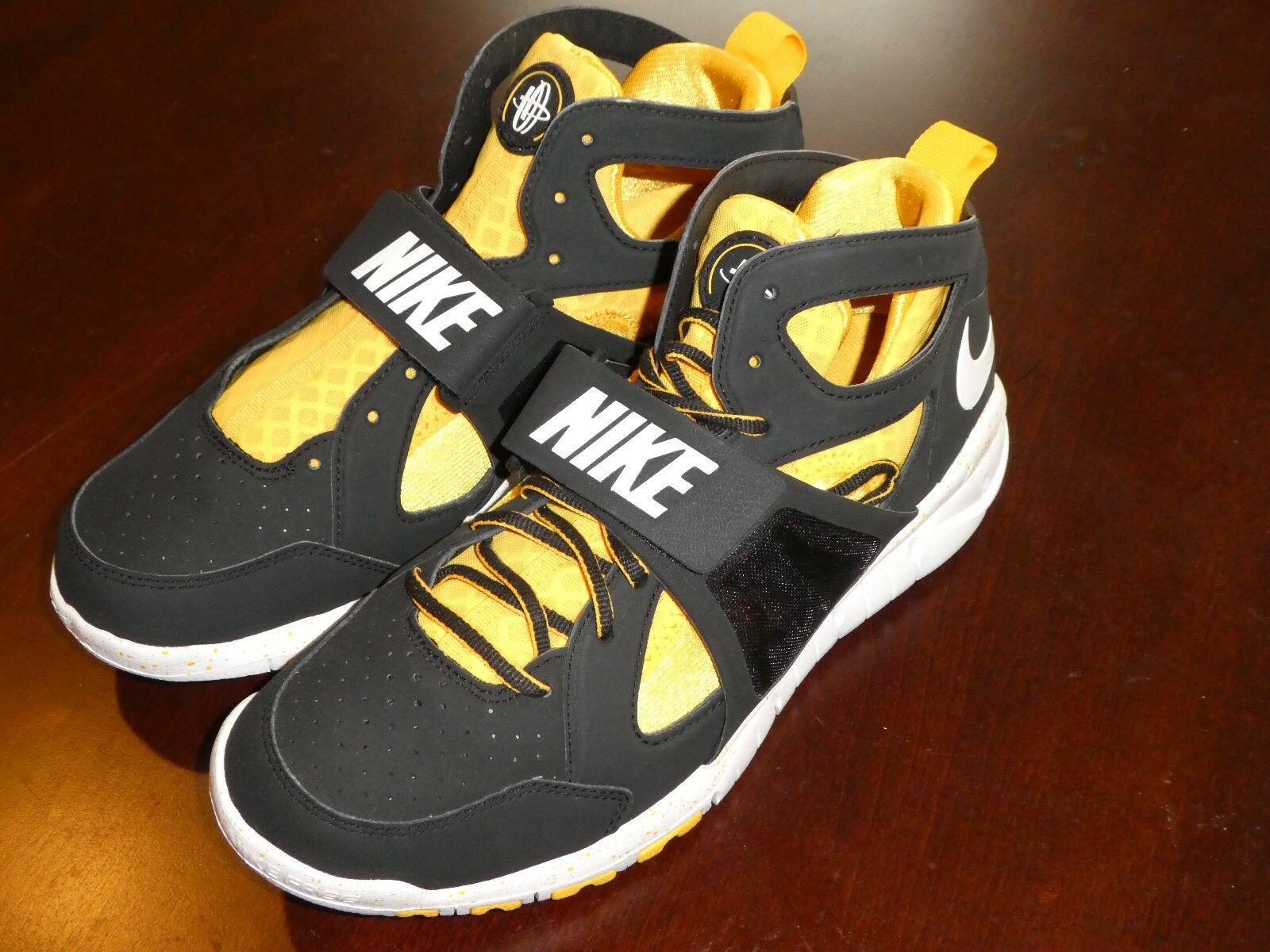 Nike Huarache Free Shield DD shoes Uomo new 540815 017 Pittsburgh Steelers