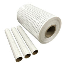 Vinyl Transfer Paper Tape Roll Craft Application Paper For Cricut Adhesive Grid
