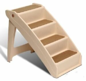 Magnificent Details About Solvit Pup 4 Step Pet Stairs Steps For Large Dogs Stool Cats Dog Tall Bed Ramps Dailytribune Chair Design For Home Dailytribuneorg