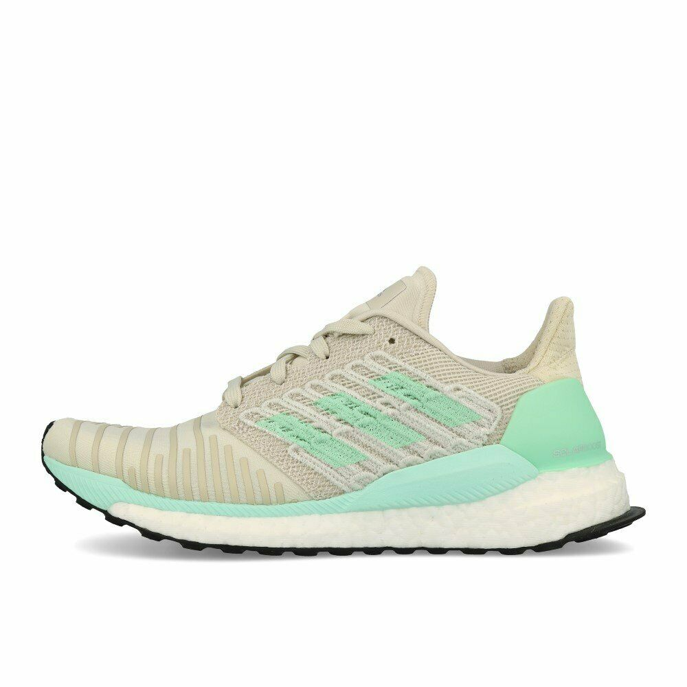 Adidas Solar Boost W White Clear Mint Active Purple Laufschuhe grey white green