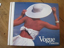 VOGUE SEWING PATTERN CATALOG BOOK STORE 1983 COUTURE FASHION SPRING SUMMER VTG