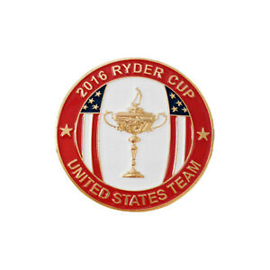 2016-Ryder-Cup-Hazeltine-Lapel-Players-Badge-New-Caddy-Staff-Pin-Limited-Edition