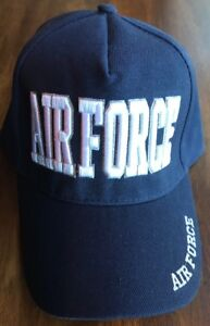 d118488e9 Details about US AIR FORCE Embroidered Military adjustable hat Baseball cap