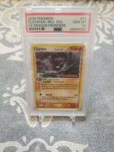 2006-Pokemon-Cloyster-Rev-Foil-Ex-Dragon-Frontiers-14-Psa-10-GEM-MINT