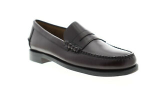 Sebago Classic Leather Mens Formal Slip On Casual Smart Loafer Shoes UK5-15
