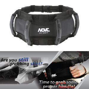 NOVAC-BASE-BELT-Passenger-Grab-Handles-Safety-Motorbike-Snow-Mobil-Jet-Ski-ATVs
