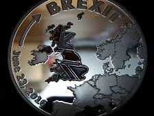 2016 June 23rd Brexit Commemorative Coin Collectible Cook Island Replica Gift UK